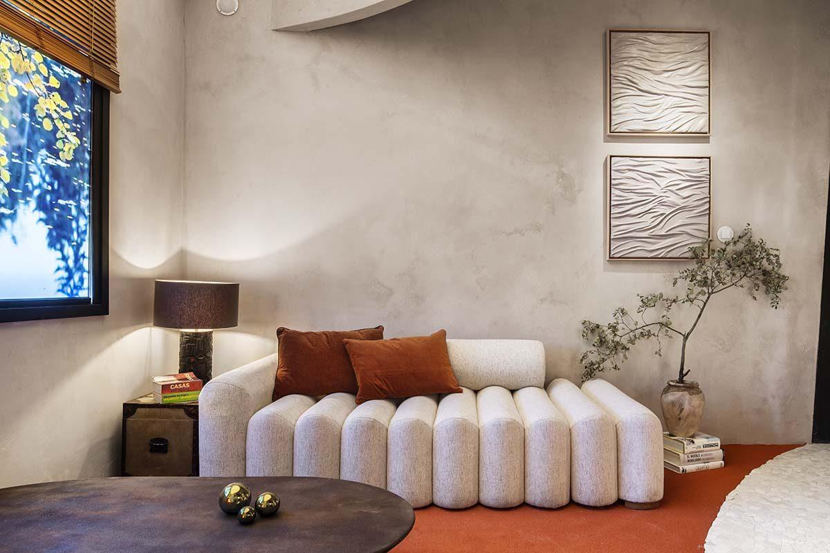 La belleza de las curvas en el espacio diseñado por Nothing studio para Casa Decor