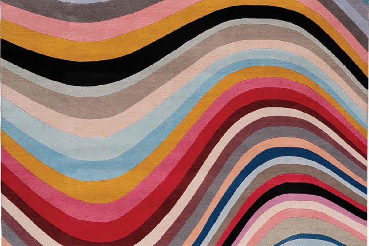 La nueva colección de alfombras de Paul Smith para The Rug Company. Un legado de color y diseño