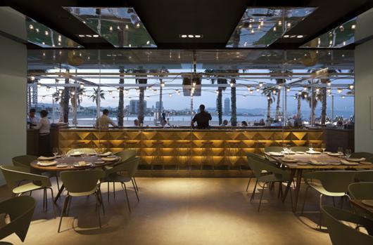 Restaurante salt en barcelona reflejos marinos que fluyen - Salt w barcelona ...