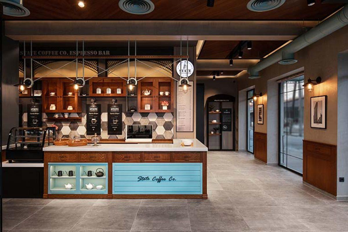 Lab4 Architects se inspira en los clásicos cafés de Nueva York de los 30s para diseñar State Coffee Co.