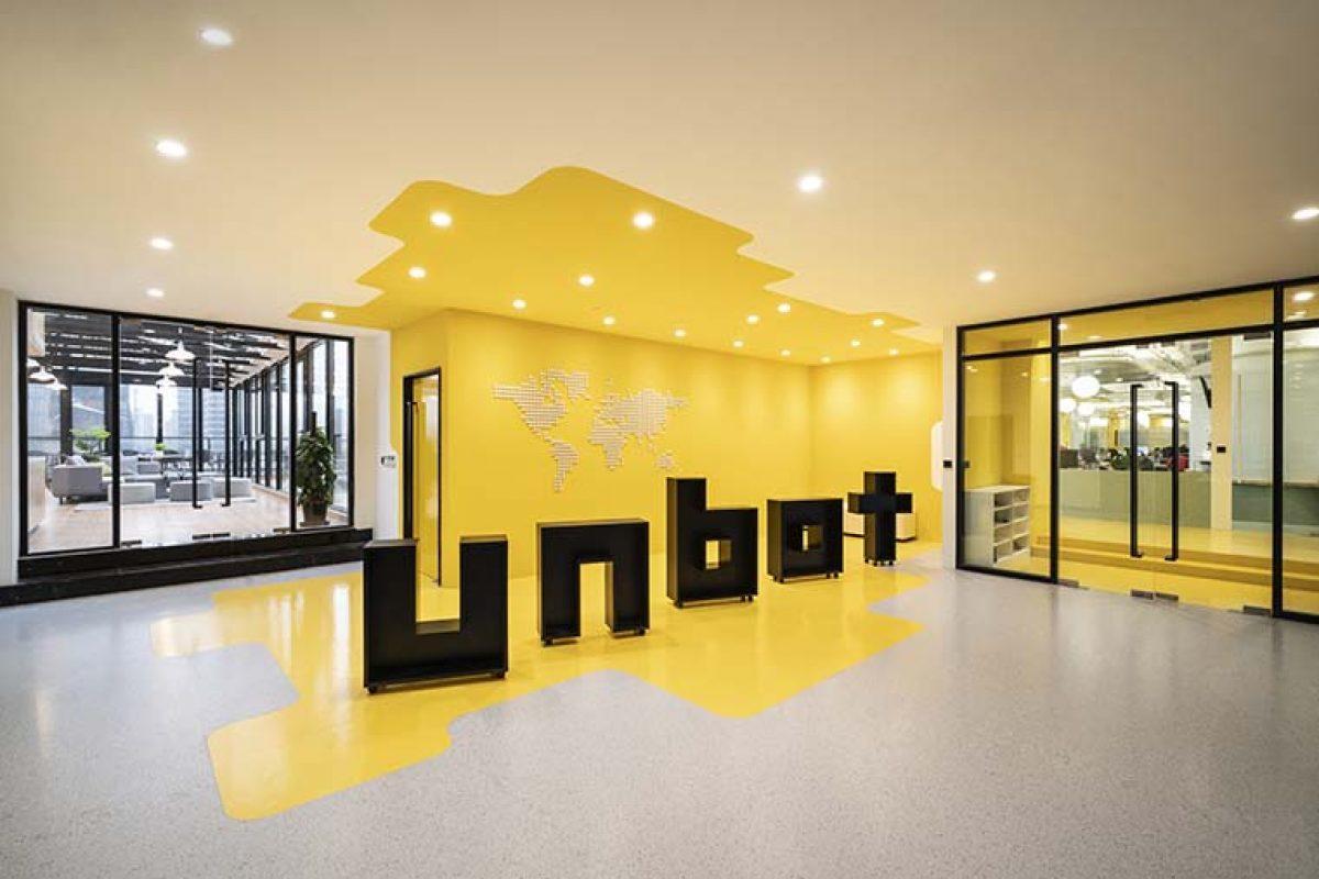 Las nuevas oficinas de Unbot Inc. por Prism Design, un espacio abierto a la creatividad y la libertad