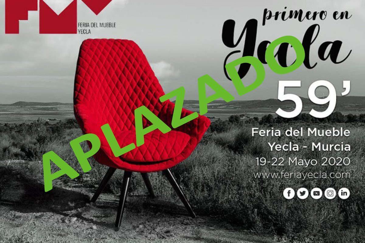 La Feria del Mueble Yecla aplaza la celebración de su 59º edición prevista para mayo