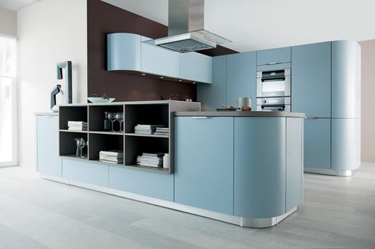 Las curvas protagonizan la nueva colecci n de cocinas schmidt for Cocinas schmidt