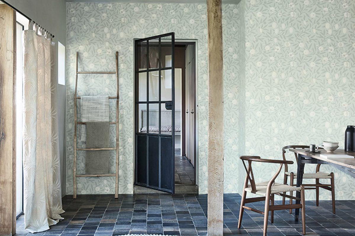 Lo nuevo de Morris & Co, tejidos, telas y papel pintado que evocan el paisaje y la cultura islandeses