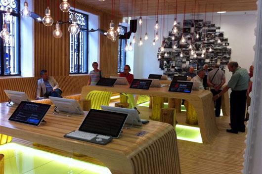 El dise o vasco viste la nueva oficina de turismo de bilbao for Oficina de turismo ibiza