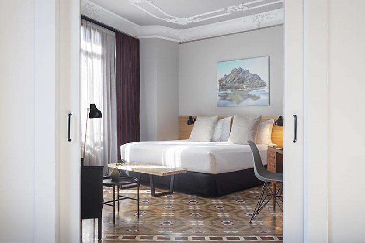 El estudio Borrell Jover firma el proyecto de reforma de las habitaciones del Hotel Alexandra Barcelona