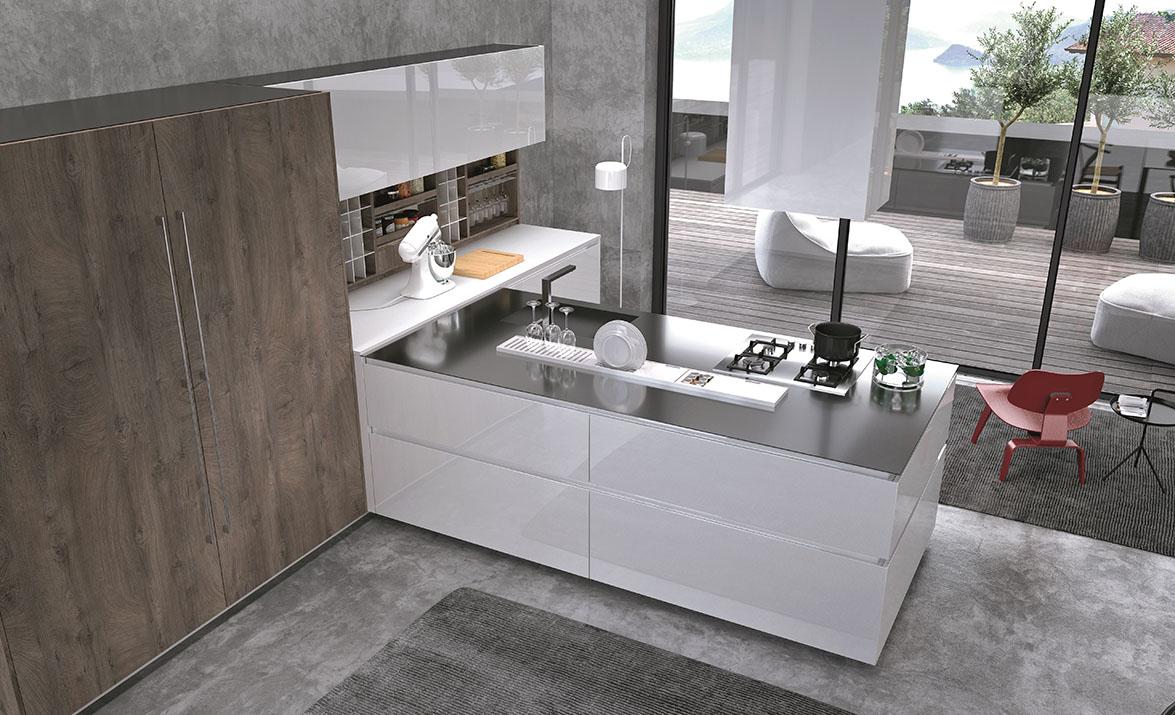 Comprex presenta sus colecciones de cocinas de alto for Cuisine xxl