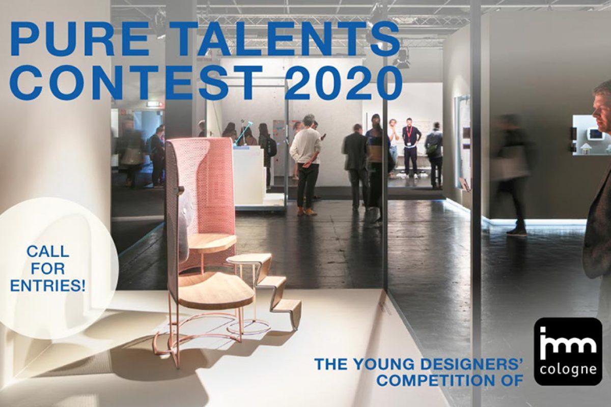 Convocatoria abierta a jóvenes diseñadores para el 17º Concurso Pure Talents de la imm cologne