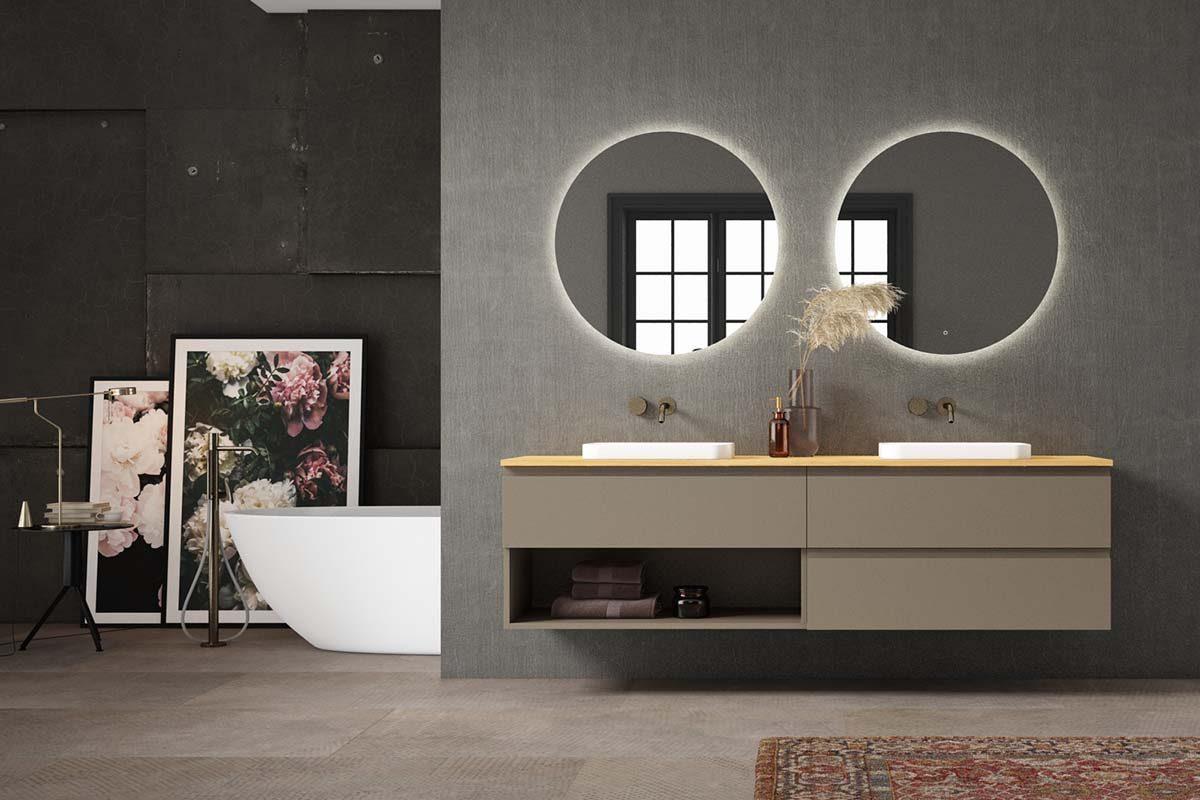 Play de Decosan, mobiliario de baño con un concepto modular estandarizado