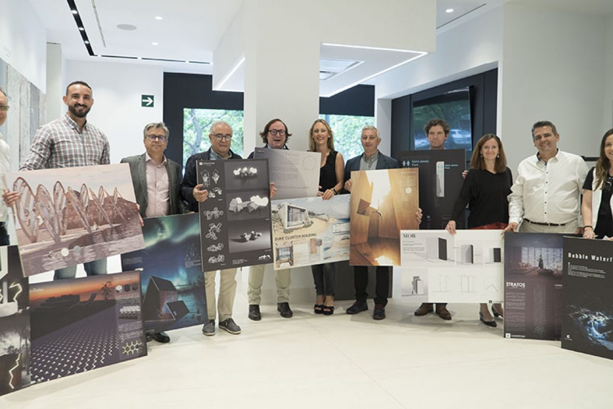 Anunciados los ganadores del 13º concurso internacional para estudiantes Cosentino Design Challenge