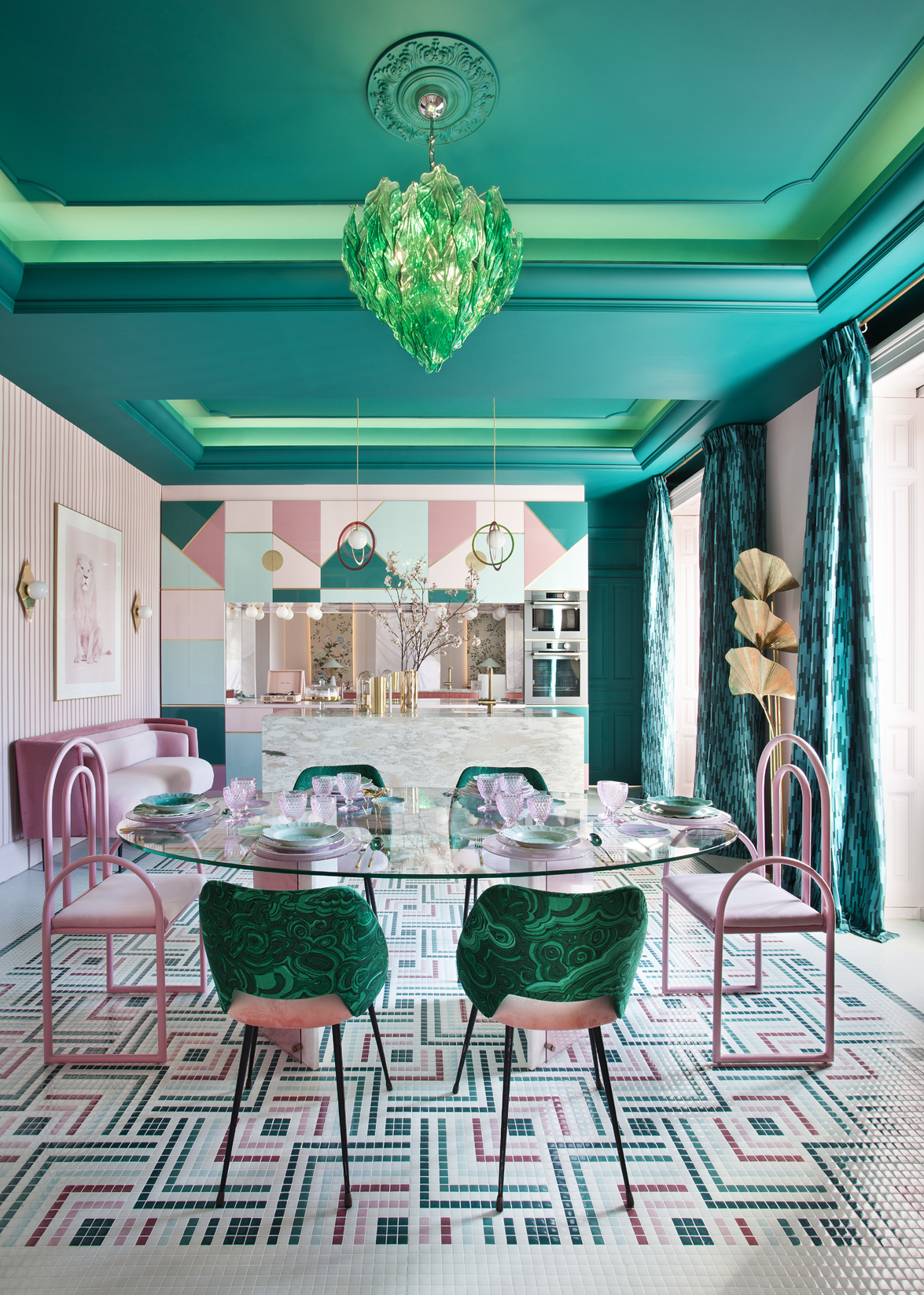Patricia Bustos Casa Decor Madrid 2018 opens