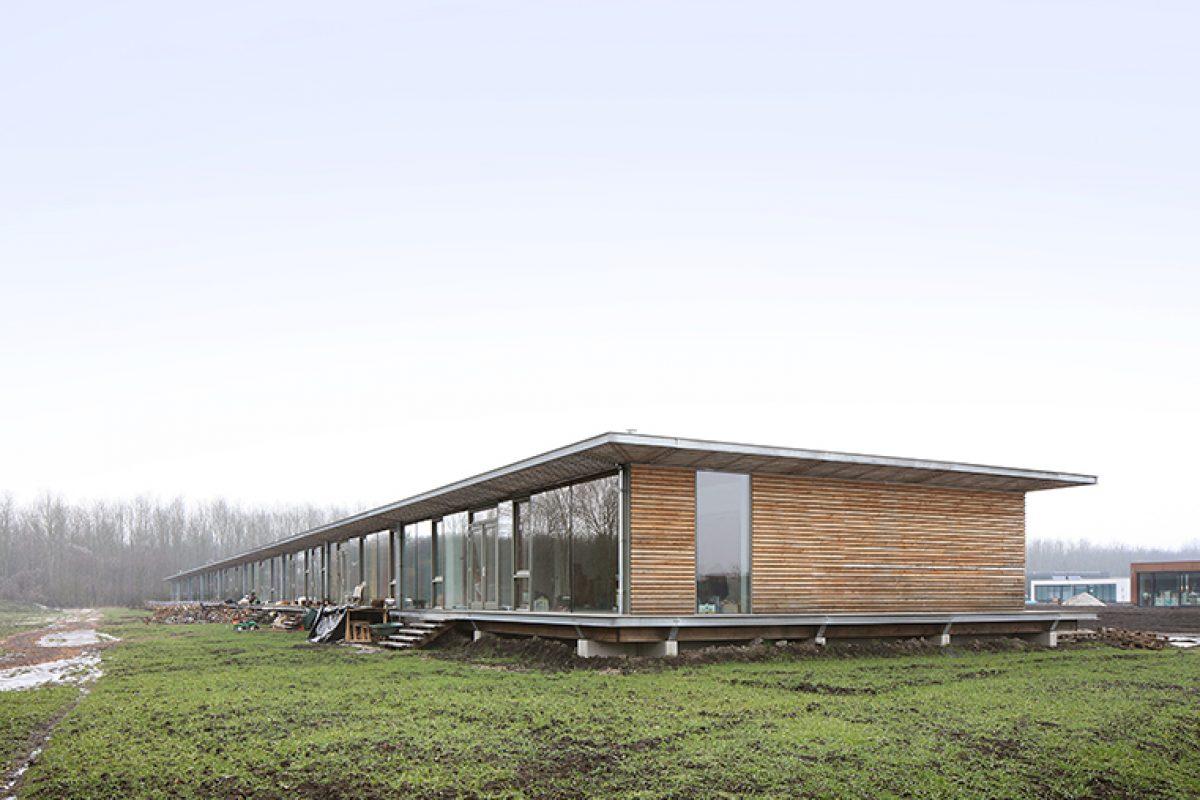 Bureau SLA y ZakenMaker diseñan el Complejo de Co-habitar Oosterwold. El desafío de un grupo de pioneros