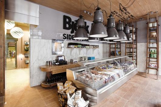 La tienda de alimentos y dise o bj rk side store elegida for Stores de cocina