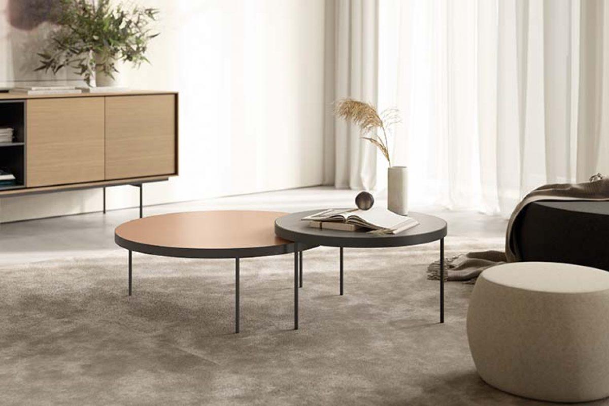 Ibon Arrizabalaga y Silvia Ceñal unen su creatividad para diseñar las nuevas mesas de centro GAU para Treku