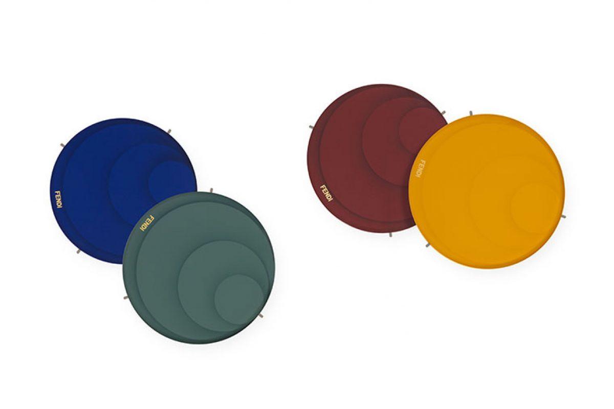 Los colores excéntricos de Ripple Drop, las nuevas mesas auxiliares de Fendi Casa