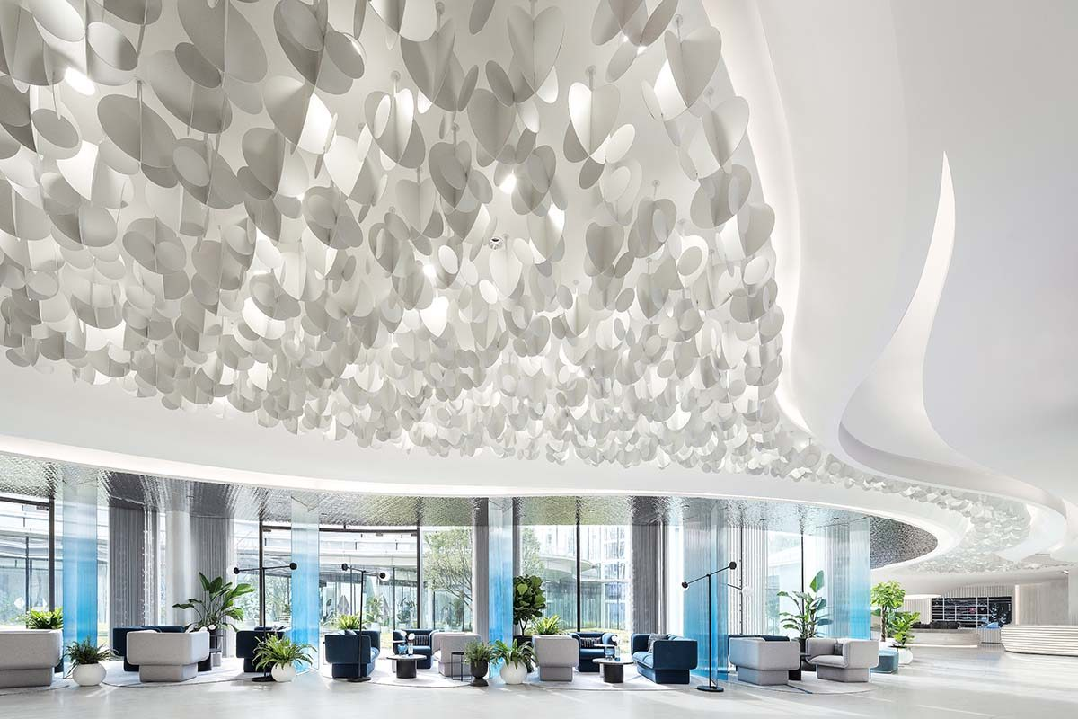 Centro de ventas CIFI «Park Mansion» por Ippolito Fleitz Group