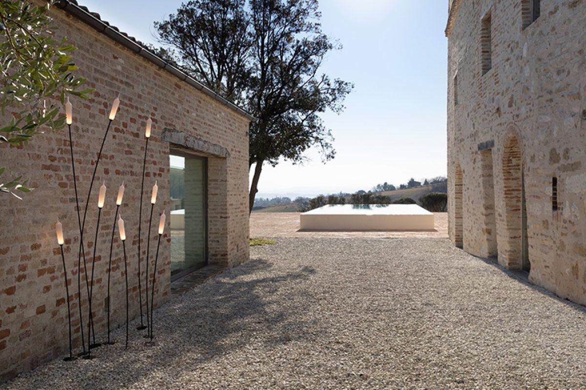 Nilo, la última colección de lámparas de exterior diseñada por Matteo Ugolini para Karman