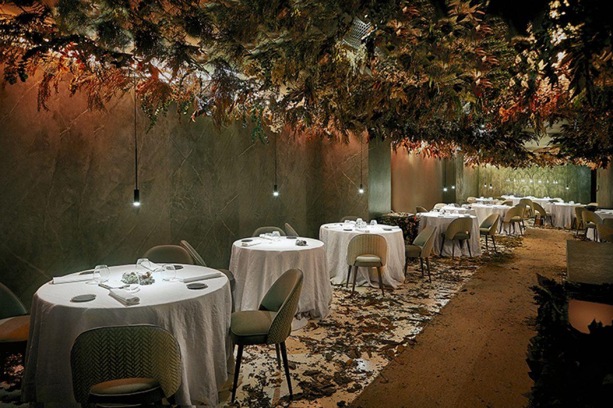 In Residence traslada este otoño el restaurante Mirazur a Madrid. Un espacio efímero diseñado por María Villalón Studio