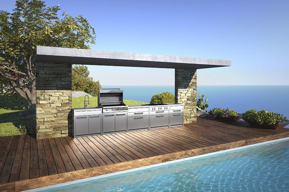 Cocinas de exterior. Tendencias y estilos