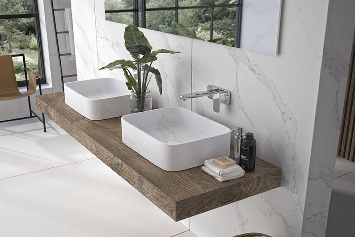 Marie by Silestone®, el lavabo sobre encimera que ofrece múltiples posibilidades estéticas y decorativas en el ámbito del baño