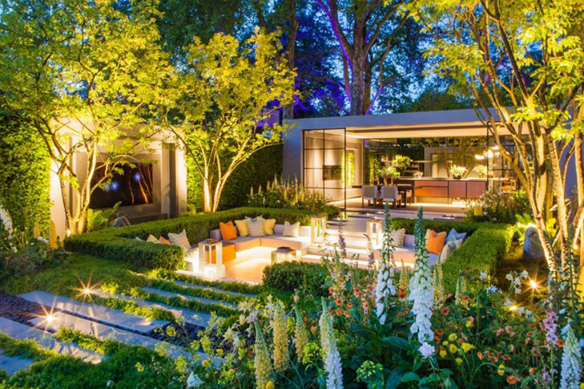 El espectacular Jardín Eco-City de LG diseñado por Hay Joung Hwang pensado para reducir la contaminación. Galardonado en el Chelsea Flower Show 2018