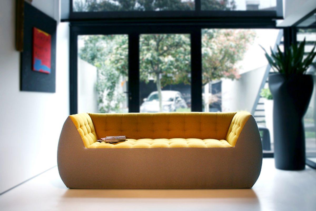 Spongy, el cómodo, mullido y alegre sofá diseñado por Marco Serracca para Two.Six