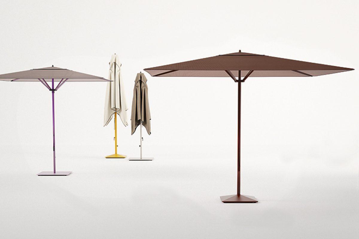 Meteo de Konstantin Grcic para Kettal. La evolución de los parasoles contemporáneos