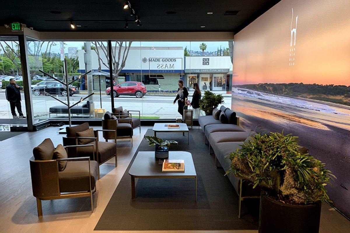 La esencia mediterránea de Gandiablasco inunda Los Angeles con su nuevo showroom