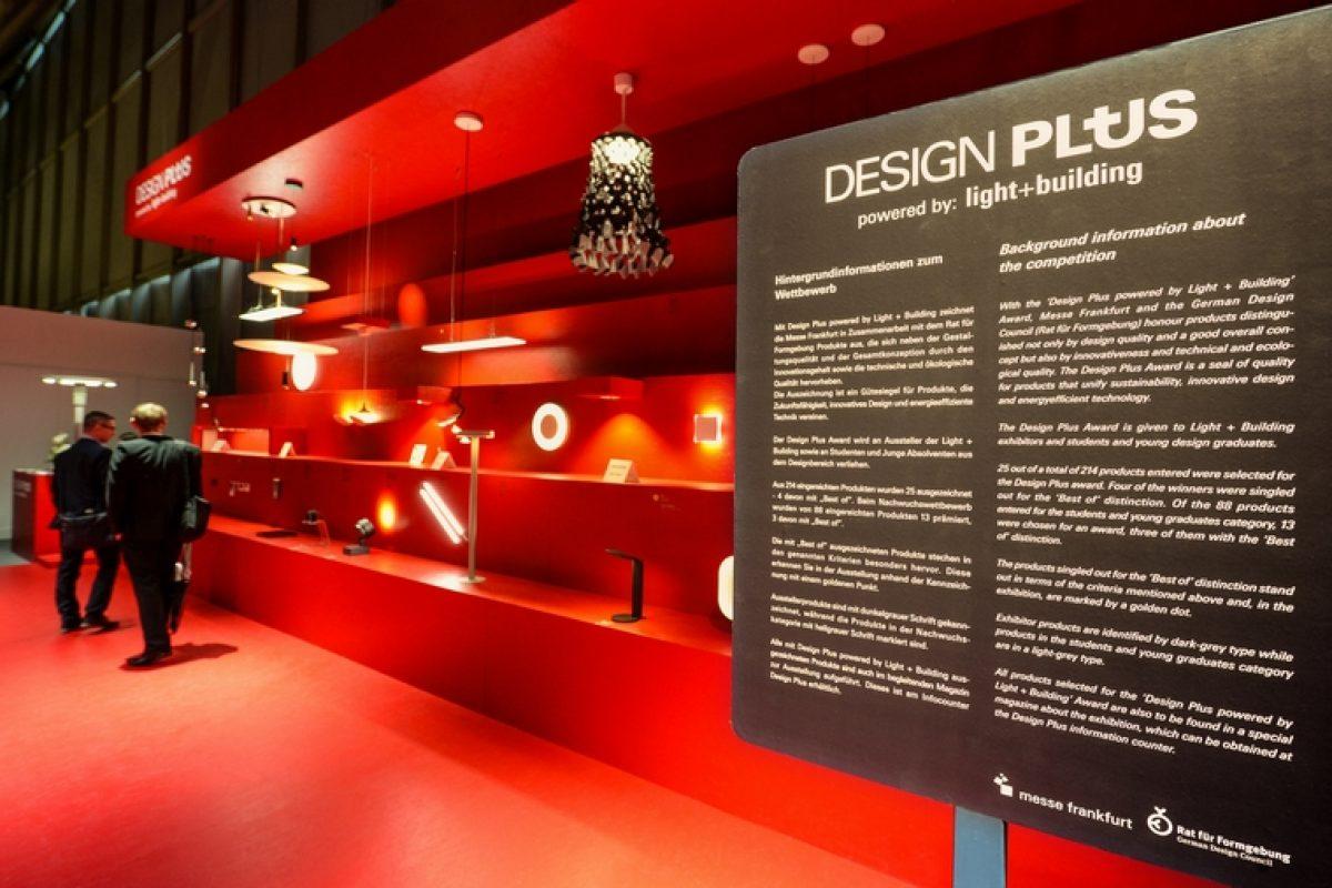 El concurso Design Plus 2018 impulsado por Light+Building da a conocer las mejores innovaciones de diseño en iluminación