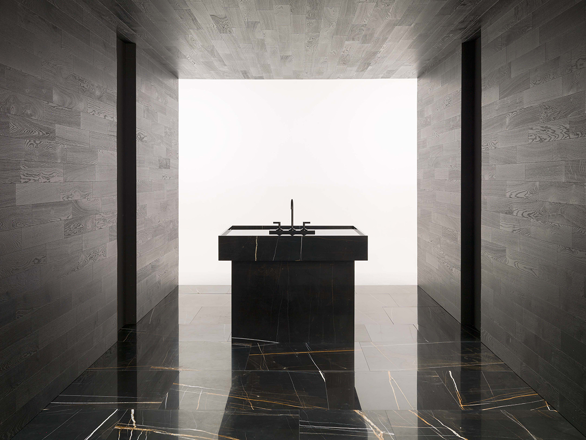 Lignage, the elegant faucet collection for the bathroom designed by ...