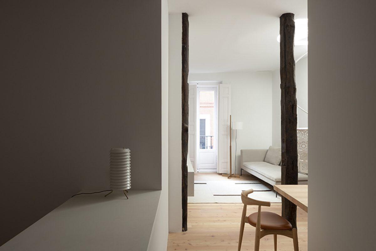 Ana Apartment, el refugio del centro de Madrid diseñado por Francesc Rifé