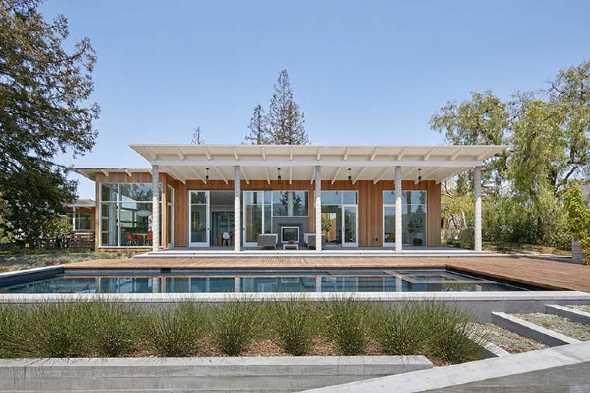 Malcolm Davis Architecture diseña una casa contemporánea y sostenible en California