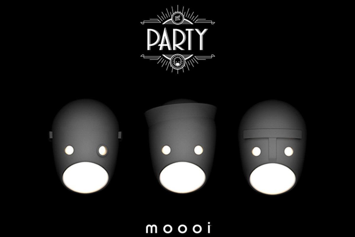 The Party, los apliques diseñados por Kranen/Gille para Moooi que hacen aflorar nuestro lado más oculto
