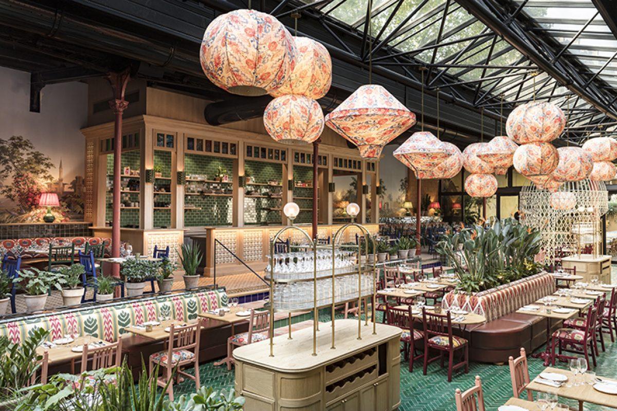 La Gare, el restaurante parisino de inspiración mediterránea y toques latinos diseñado por Laura Gonzalez