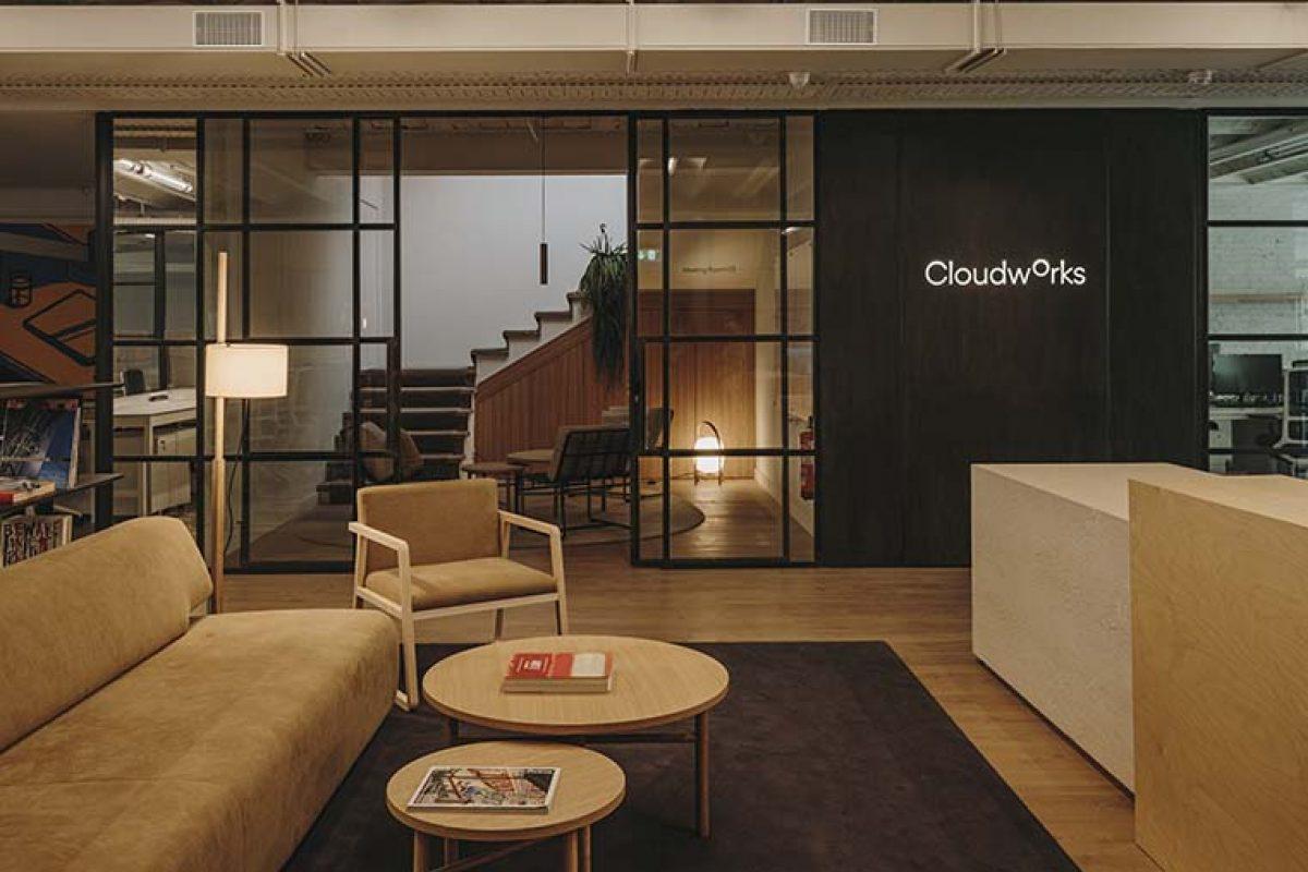La versatilidad del espacio coworking diseñado por Sandra Tarruella para Cloudworks