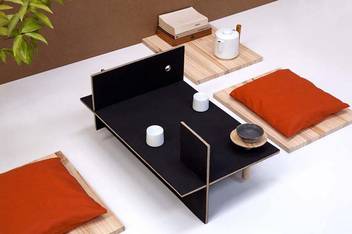N-O1, 1ª Edición Limitada de Diseño Circular Nid-O. Una versátil pieza de mobiliario diseñada por Luis Eslava con material reciclado Honext