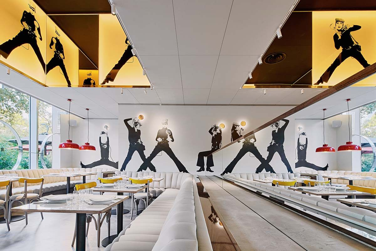 Restaurante Croma by Flash por Llamazares Pomés Arquitectura, un homenaje al proyecto de Correa-Milá de los años 70