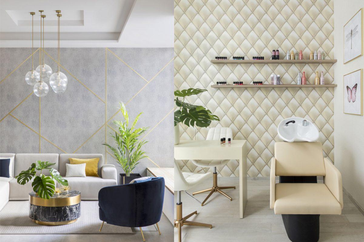 Virginia Gasch se inspira en los salones de belleza más sofisticados para crear una zona wellness en un edificio de vivienda residencial