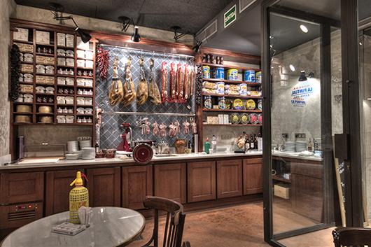 La Puntual Winery In El Born Barcelona Dissenya2