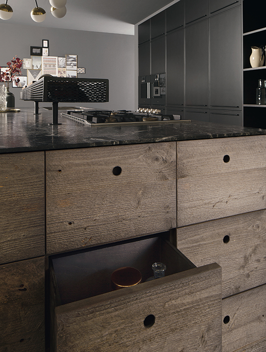 Factory, the industrial style kitchen designed by Alessio Bassan ...