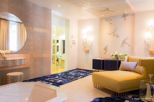 In dito el espacio del estudio de interiorismo more more design en casa decor madrid 2014 - Estudios de interiorismo madrid ...