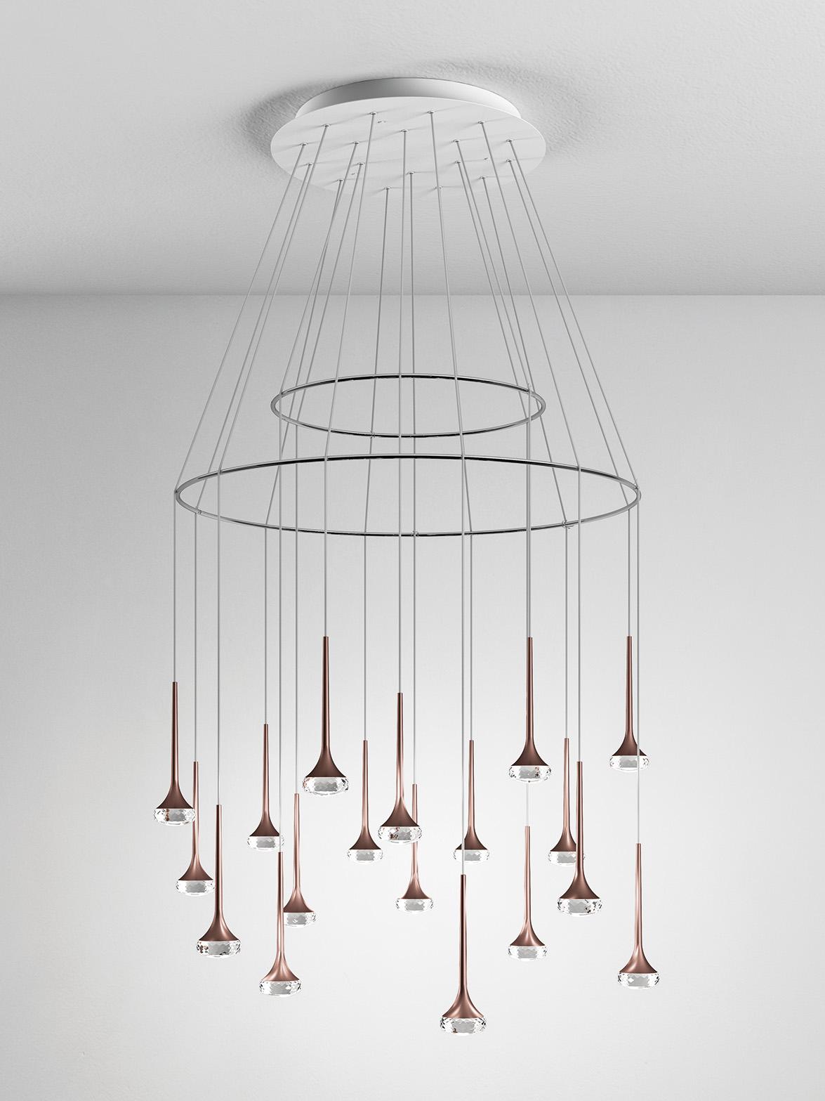 Fairy by Manuel Vivian for Axo Light, magical drops of light