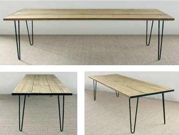 Teyfmon nos presenta la tendencia en patas para mesas - Patas metalicas para mesas ...