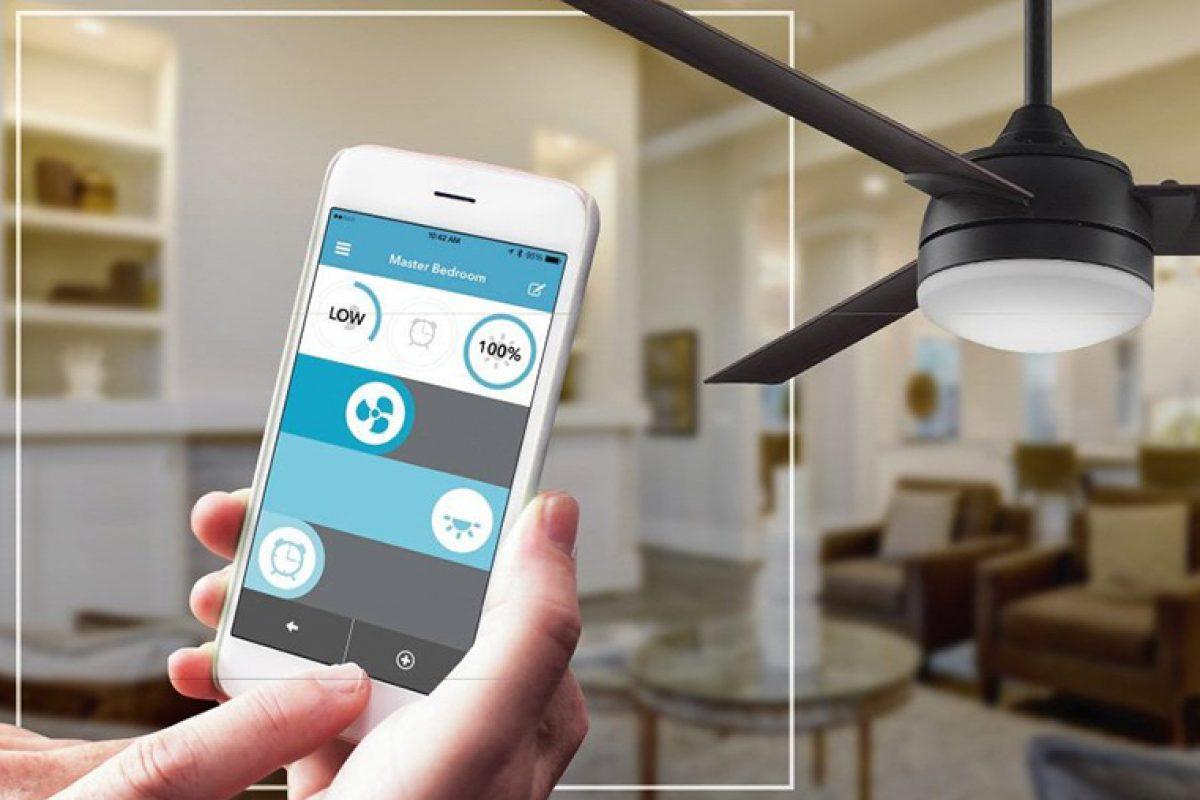 ¿Ventilador encendido o apagado, rápido o lento, con luz o sin luz? Controle su ventilador de techo con su Smartphone