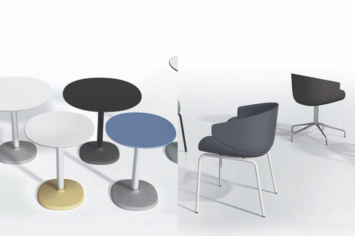 Anticipo Salone del Mobile 2018: Butaca Bix y mesa Fonda, las novedades de B Line diseñadas por Studio Zanellato/Bortotto y Maddalena Casadei