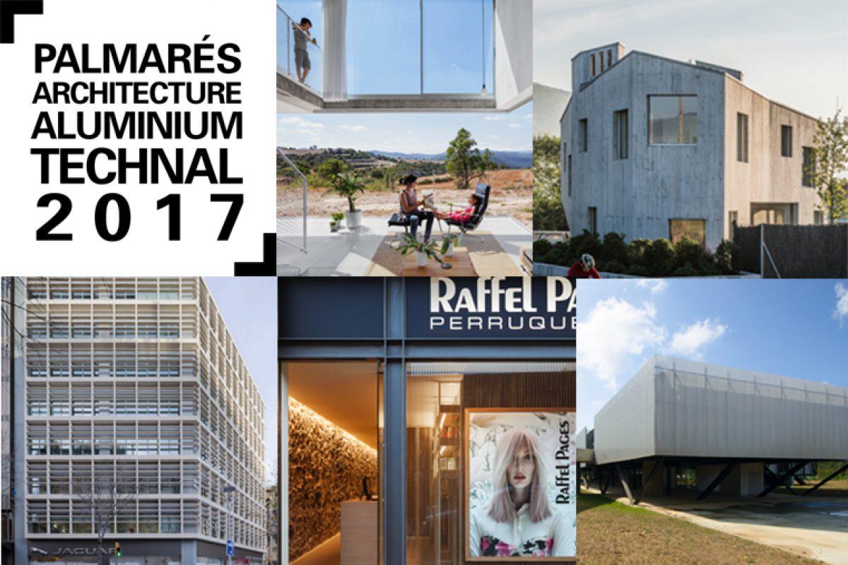 Palmarés ArchitectureAluminium Technal anuncia los premiados de su edición 2017. Arquitectura innovadora e integradora