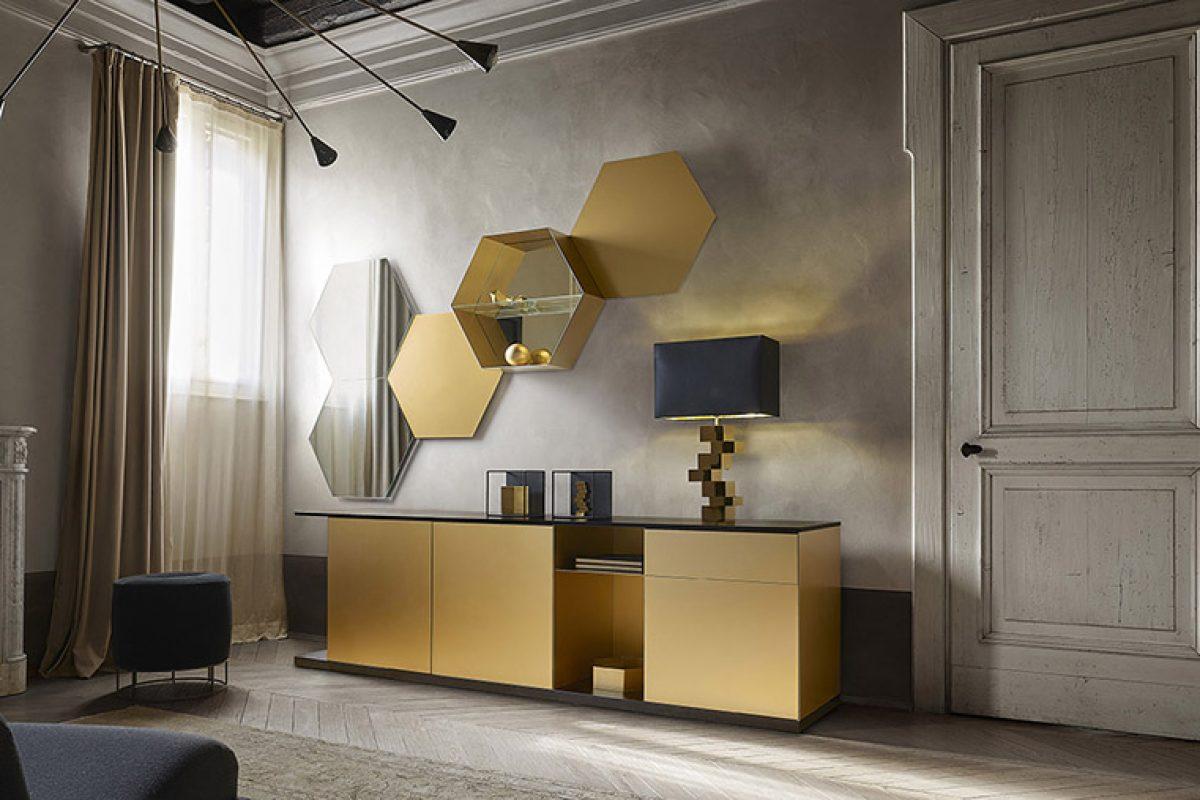 Emera de Studio 28 para Ronda Design. Una mezcla de estilos para un aparador elegante y funcional