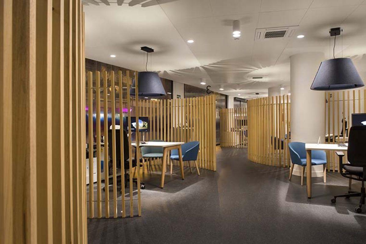 Denys & von Arend diseña las oficinas de Aigües de Barcelona, inspiradas en el cuerpo humano y el circuito del agua