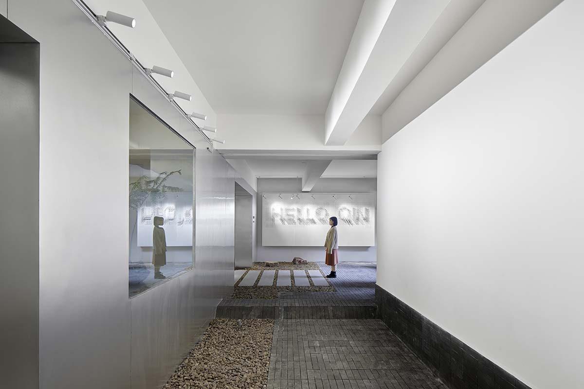 Las oficinas diseñadas por Studio DOTCOF. Trabajar bajo el mismo techo