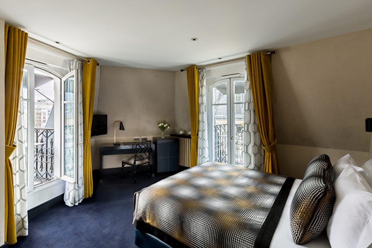 La cadena Room Mate Hotels de Kike Sarasola abre su primer hotel en Paris con un diseño de Lorenzo Castillo